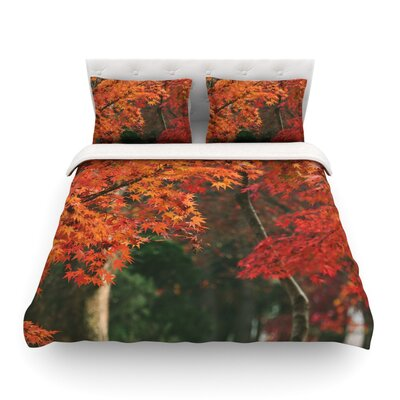 Autumn Sonata by Catherine McDonald Featherweight Duvet Cover Size: King
