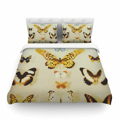 The Butterfly Photography by Chelsea Victoria Featherweight Duvet Cover Size: King