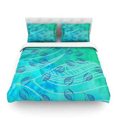 Sweet Summer Swim by Catherine Holcombe Featherweight Duvet Cover Size: King
