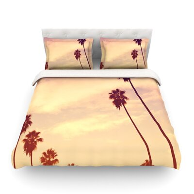Endless Summer by Catherine McDonald Featherweight Duvet Cover Size: Twin