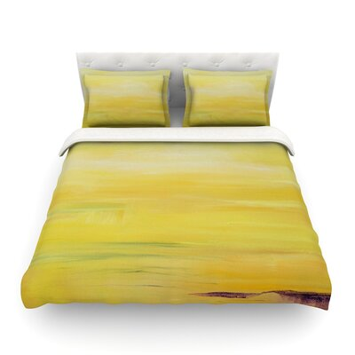 Sunrise by Cathy Rodgers Featherweight Duvet Cover Size: Twin