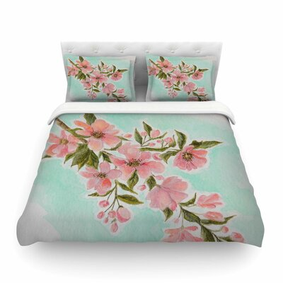 Chieko by Christen Treat Featherweight Duvet Cover Size: Twin