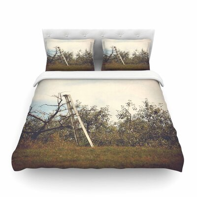 Apple Picking Photography by Angie Turner Featherweight Duvet Cover Size: Full/Queen