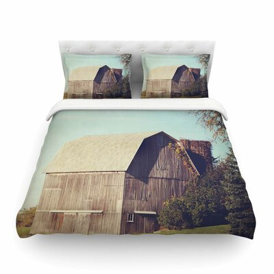 Barn by Angie Turner Featherweight Duvet Cover Size: Twin