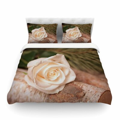 Rustic Romance by Angie Turner Featherweight Duvet Cover Size: Twin