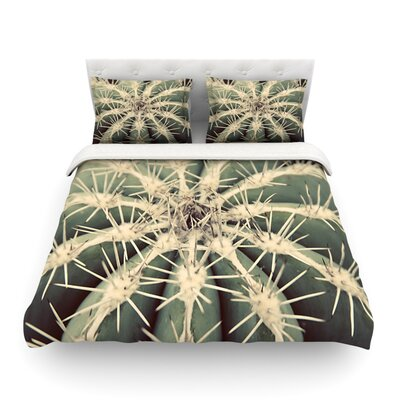 Cactus Plant by Angie Turner Featherweight Duvet Cover Size: Full/Queen