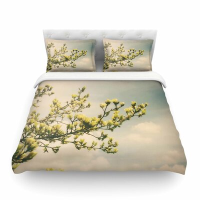 Yellow Magnolias Photography by Angie Turner Featherweight Duvet Cover Size: Twin