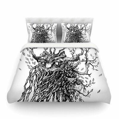 Forest Spirit Nature by Anya Volk Featherweight Duvet Cover Size: Twin