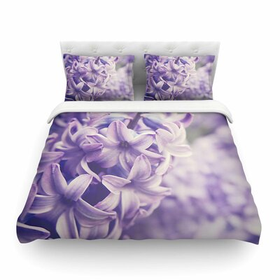 Lavender Dreams by Angie Turner Featherweight Duvet Cover Size: Twin