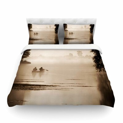 Misty Morning by Angie Turner Featherweight Duvet Cover Size: King