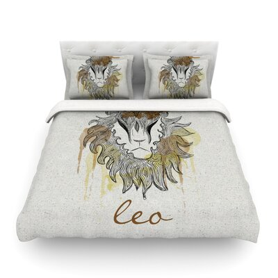 Leo by Belinda Gillies Featherweight Duvet Cover Size: Twin