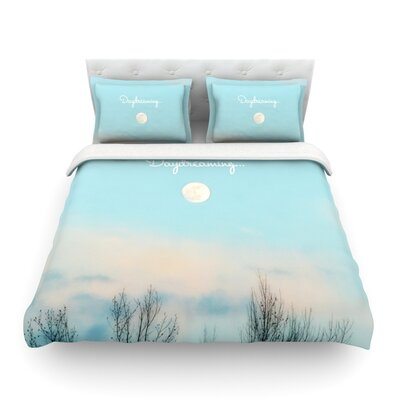 Day Dreaming Sky Clouds Featherweight Duvet Cover Size: King