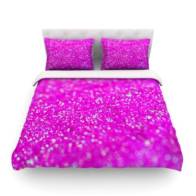 Raspberry Sorbet Featherweight Duvet Cover Size: Twin