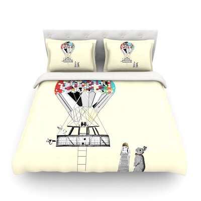 Adventure Days Featherweight Duvet Cover Size: Twin
