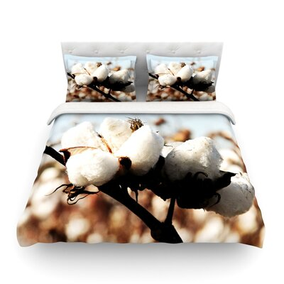 Southern Snow by Beth Engel Featherweight Duvet Cover Size: Twin