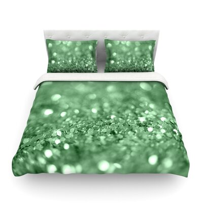 Lucky Shamrock by Beth Engel Featherweight Duvet Cover Size: King