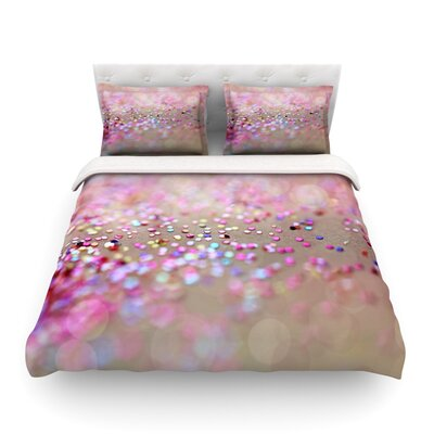 Princess Confetti Featherweight Duvet Cover Size: Full/Queen