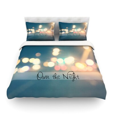 Own the Night by Beth Engel Featherweight Duvet Cover Size: King