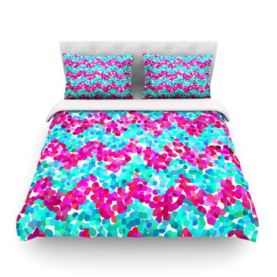 Scattered by Beth Engel Featherweight Duvet Cover Size: Twin