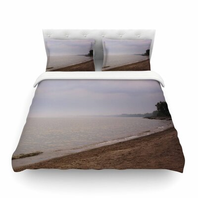 Along The Coast by Angie Turner Featherweight Duvet Cover Size: Twin