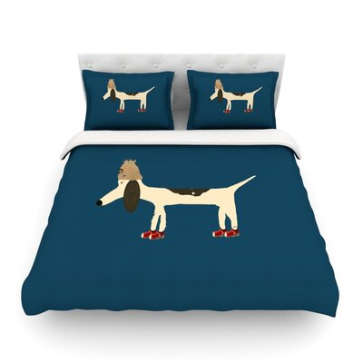 Chien Featherweight Duvet Cover Size: Full/Queen
