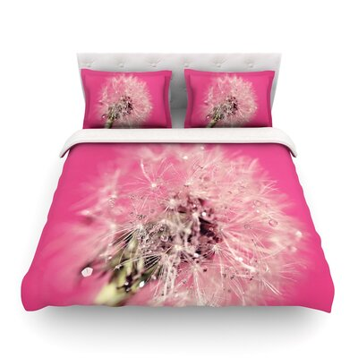 Twilight Dandelion by Beth Engel Featherweight Duvet Cover Size: Full/Queen