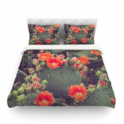 Flamenco by Ann Barnes Featherweight Duvet Cover Size: Twin