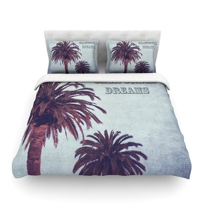 California Dreams by Ann Barnes Featherweight Duvet Cover Size: Twin