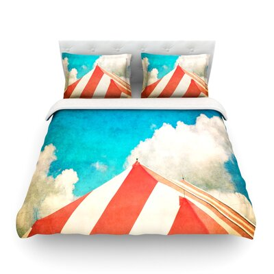 The Big Top by Ann Barnes Featherweight Duvet Cover Size: Twin