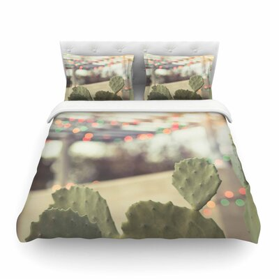Austin Summer Party by Ann Barnes Featherweight Duvet Cover Size: Twin