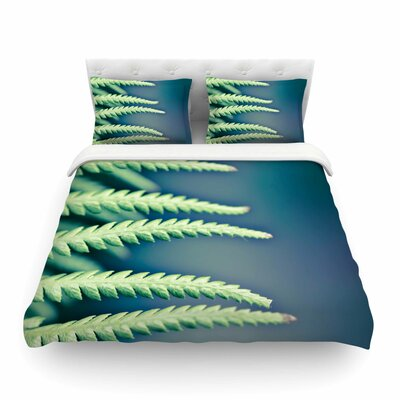Castaway Coastal by Ann Barnes Featherweight Duvet Cover Size: Full/Queen