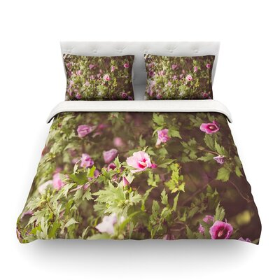 Lush by Ann Barnes Featherweight Duvet Cover Size: Full/Queen