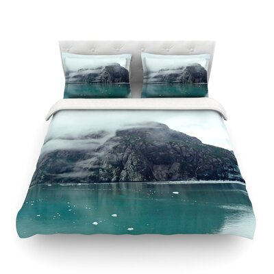 Into the Mist by Ann Barnes Featherweight Duvet Cover Size: Full/Queen