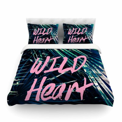 Wild Heart 1 by Ann Barnes Featherweight Duvet Cover Size: King