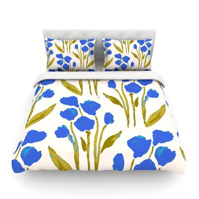 Shirley Gem by Gukuuki Featherweight Duvet Cover Size: Twin