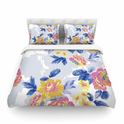 Royal Garden by Gukuuki Featherweight Duvet Cover Size: King