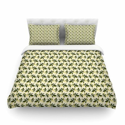 Pine Cone by Mayacoa Studio Featherweight Duvet Cover Size: Full/Queen