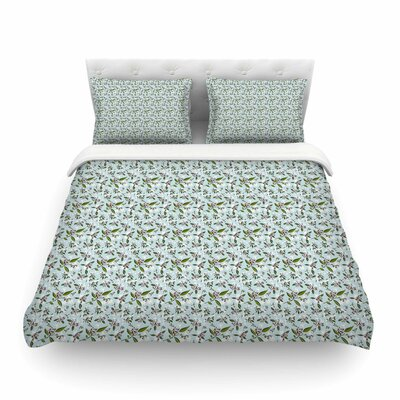 Jasmine by  Mayacoa Studio Featherweight Duvet Cover Size: Twin