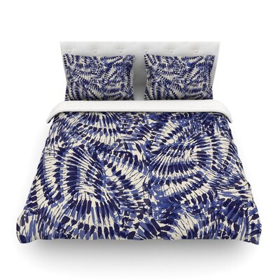 Iggy Palms by Gukuuki Featherweight Duvet Cover Size: Full/Queen