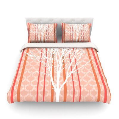 Spring Tree Pastel by Heidi Jennings Featherweight Duvet Cover Size: Twin
