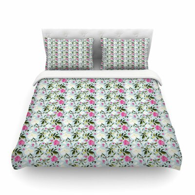 Romantic French Park by Mayacoa Studio Featherweight Duvet Cover Size: King