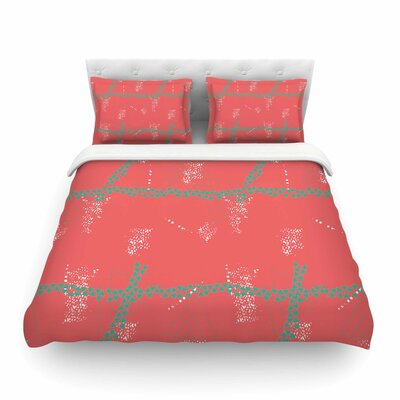 Bold Geometric by Love Midge Featherweight Duvet Cover Size: Twin