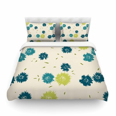Mollie by Gukuuki Featherweight Duvet Cover Size: Twin