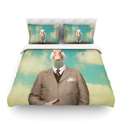 Passenger 15A Duck by Natt Featherweight Duvet Cover Size: Full/Queen