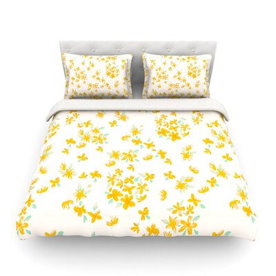 Kashmir Garden by Gukuuki Featherweight Duvet Cover Size: Full/Queen