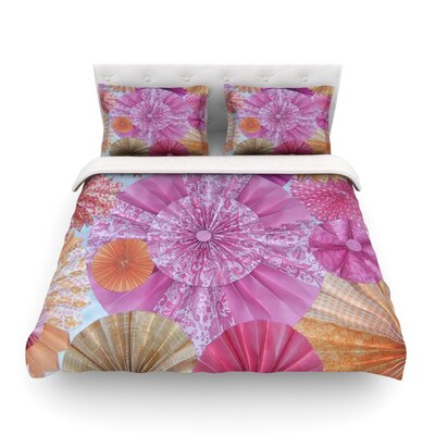 Blossoming by Heidi Jennings Featherweight Duvet Cover Size: King