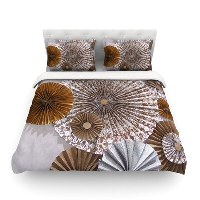 Venice by Heidi Jennings Featherweight Duvet Cover Size: Twin