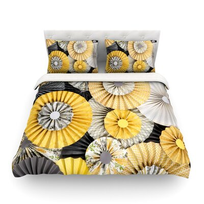 Daffodil by Heidi Jennings Featherweight Duvet Cover Size: Full/Queen