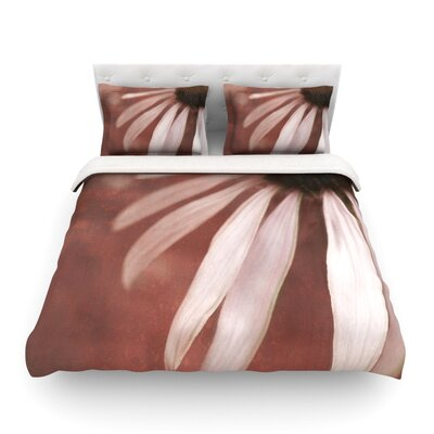 Flower by Iris Lehnhardt Featherweight Duvet Cover Size: Full/Queen