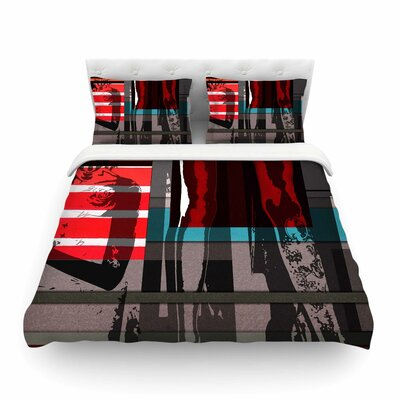 Temptation by Ivan Joh Featherweight Duvet Cover Size: King